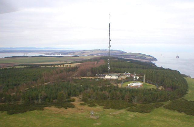 View of Eathie Mast looking north - 2004