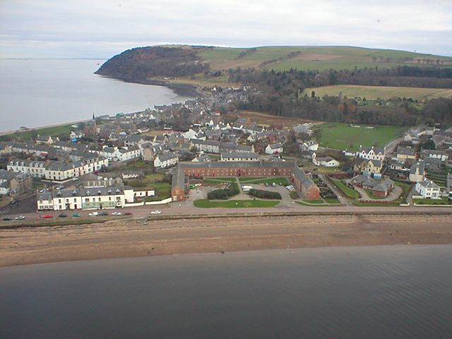 Aerial view from the West - 2004