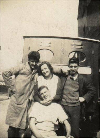 Group in front of Van - c1934