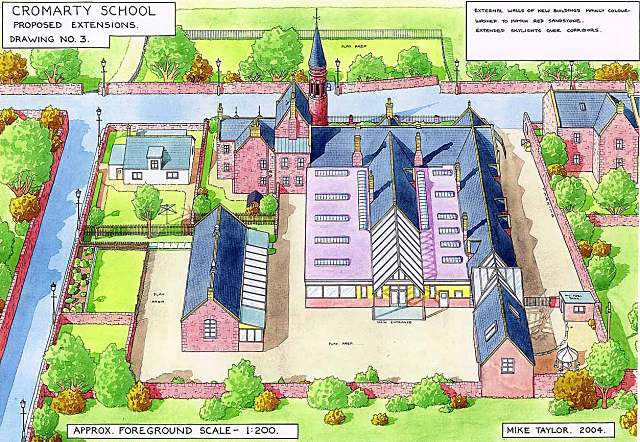 Possible plan for school refurbishment - 2004