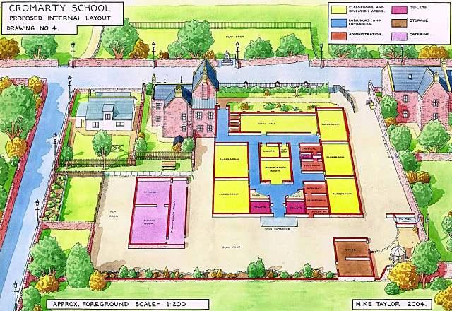 Possible plan for school refurbishment - 2004