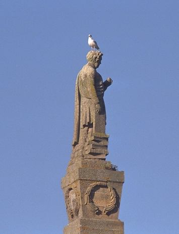 Hugh Miller's Statue
