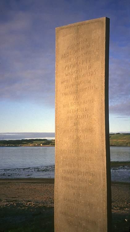 Hugh Miller Standing Stone Looking North