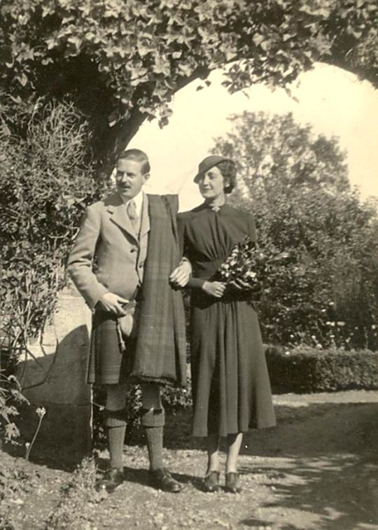 Donald Ross & Lady Tiverton - c1950???