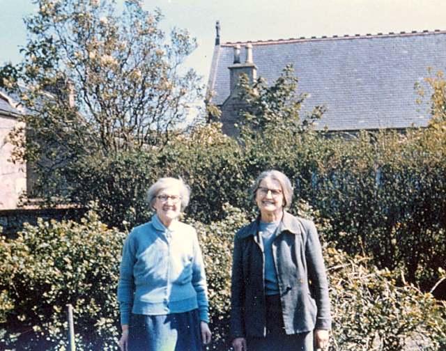 Bella Chapman & Mary Davidson - c1963?