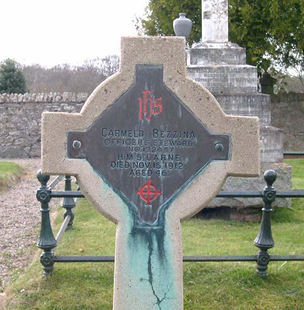 Grave of Carmelo Bezzina, d.1912