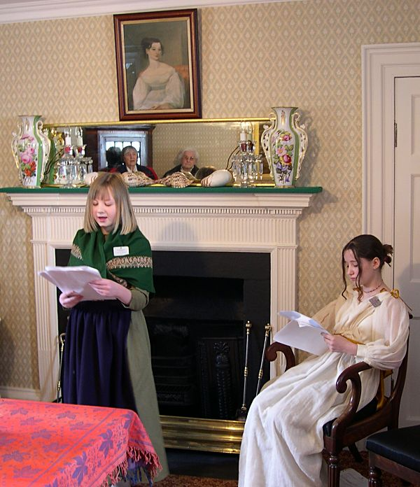 Readings at the opening of Miller House