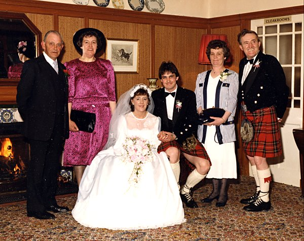 Wedding of Brian & Marigold - 1988