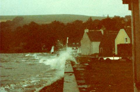 Storm on Shore St - 1982