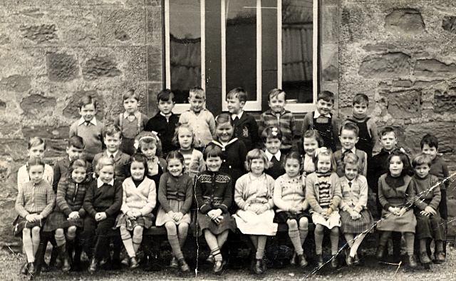 Cromarty Primary - 1955
