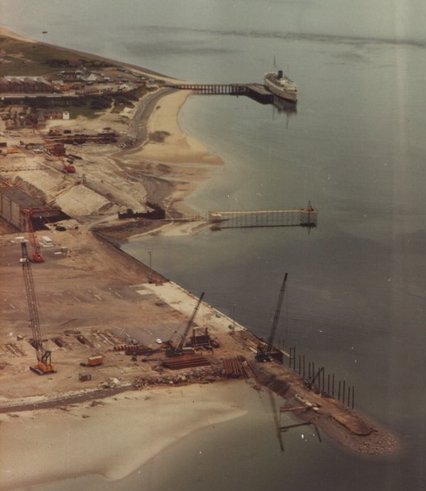 Nigg Yard under construction - 26/6/1973