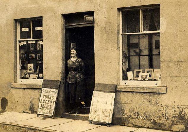 Chapman's Shop - 1920