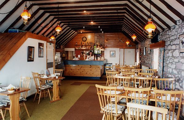Interior of the Byre restaurant - c1996