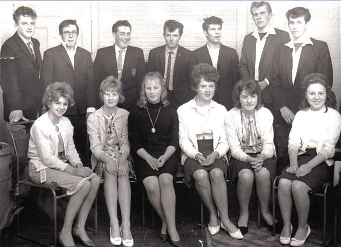 Cromarty Youth Club - c1964