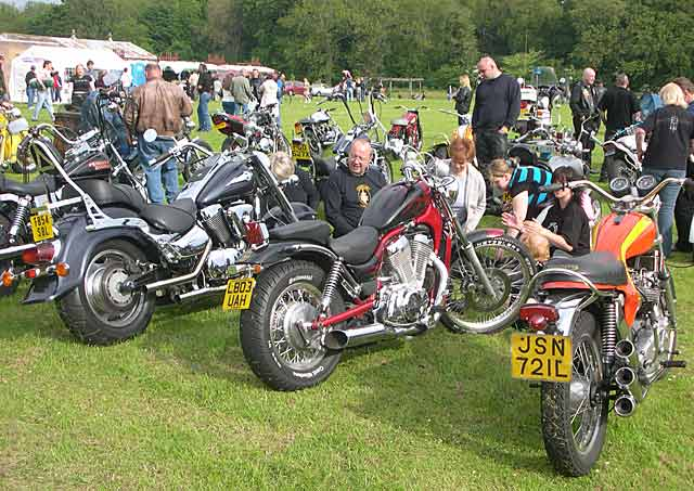 Bike Rally in Victoria Park