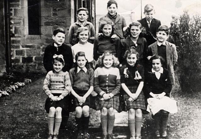 Cromarty School - c1947