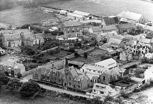 Aerial shot of the School - c1950???