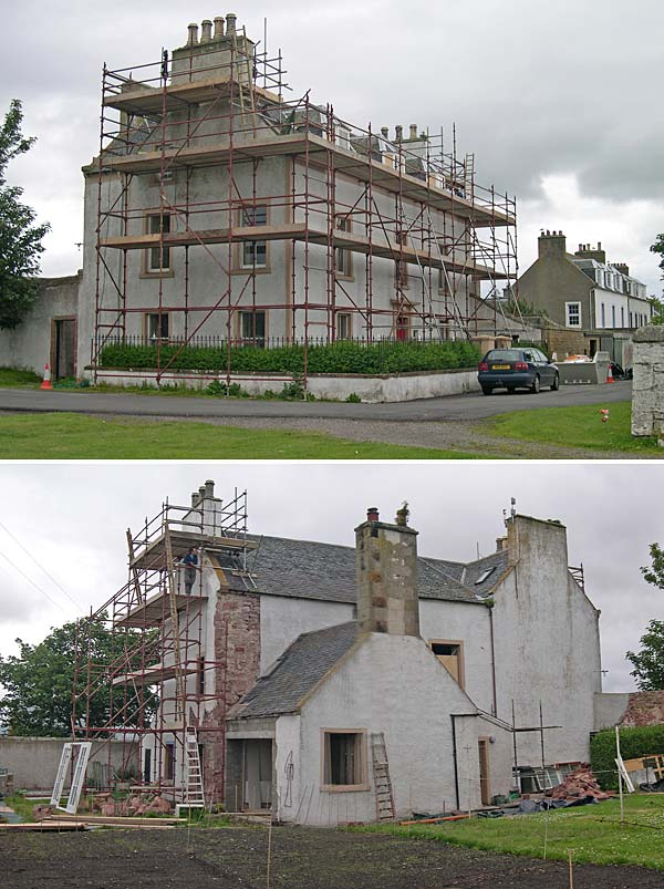 Reay House, George Street - renovations