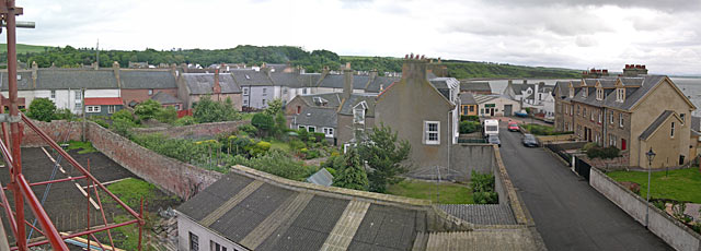 View from Reay House roof to the West