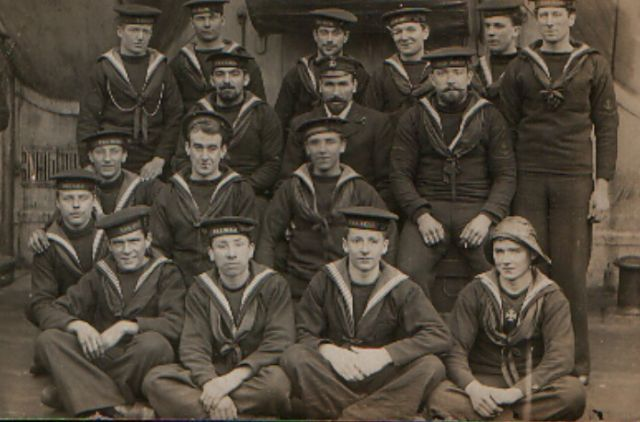 Crewmen from the HMS Natal