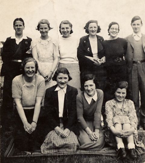 Sunday School outing to Invergordon - c1934