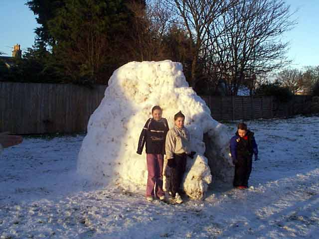 Igloo in Townlands Park - 2003