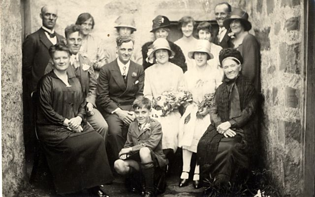 Wedding of Jessie Ferguson - c1924