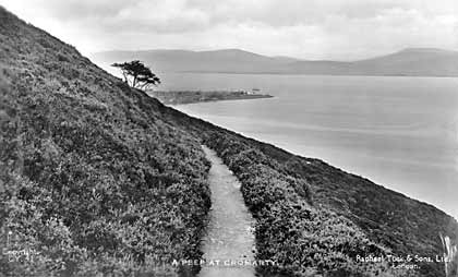 A Peek at Cromarty from the South Sutor - 1920??