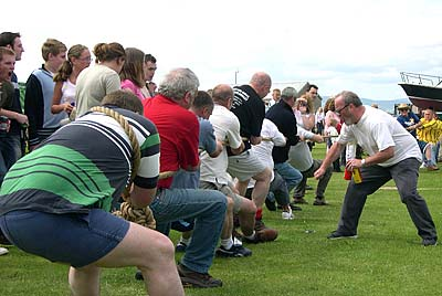 'The Royal' Tug of War team