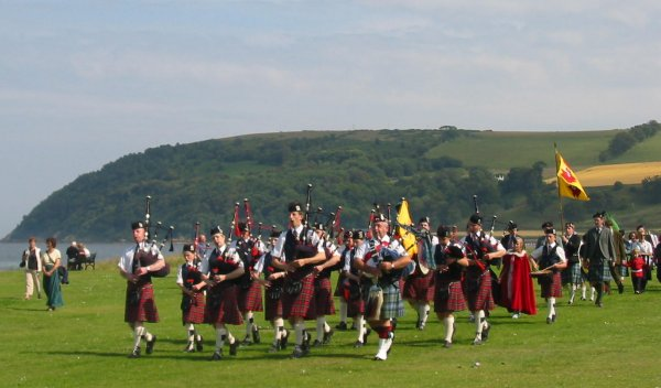 Black Isles Schools Pipe Band