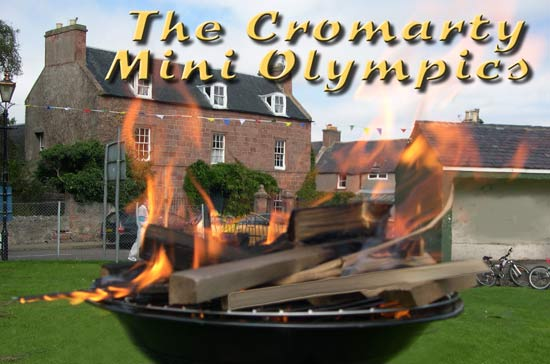 Cromarty Mini Olympics Flame