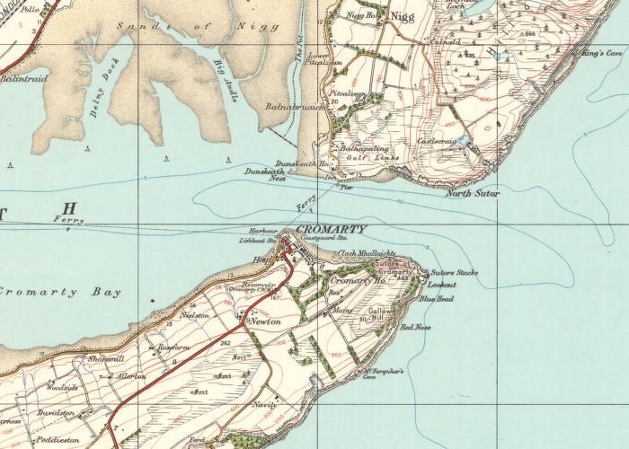 Cromarty Firth Map