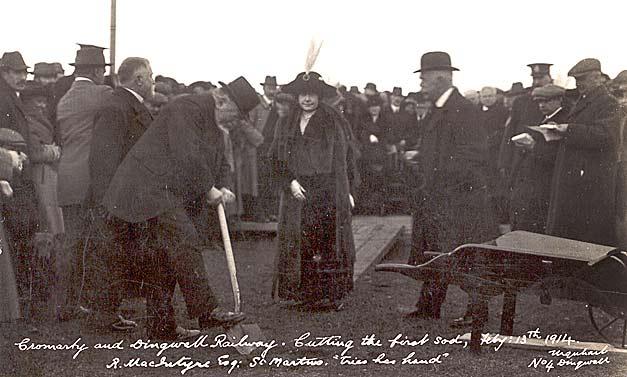 Cromarty Railway - 1914
