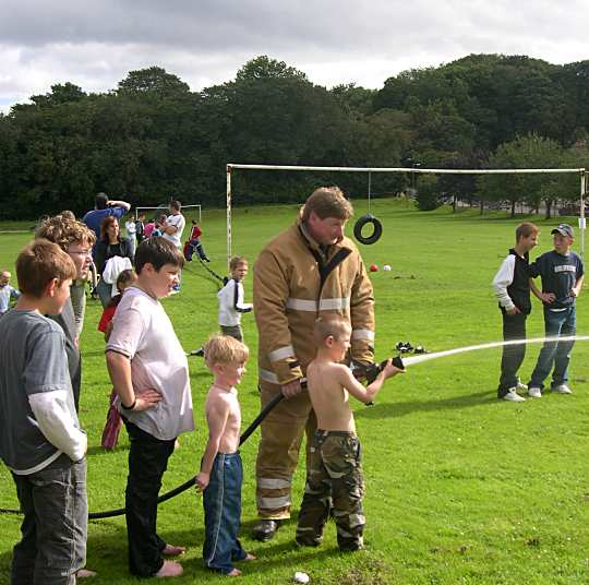Cromarty School Fete - Aug 2004