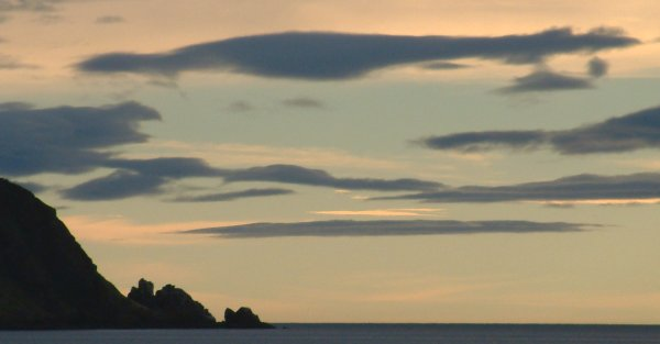 North Sutor stacks from the Cromarty Rose