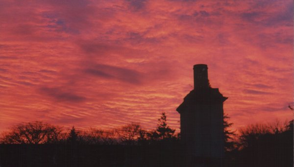 Sunset over Cromarty