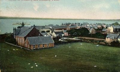 West Church from the Manse - c1908