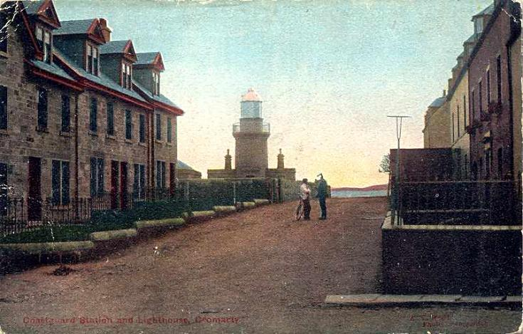 George St and the Lighthouse