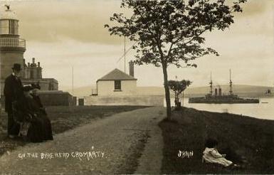 'On the Braehead, Cromarty'