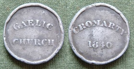 Communion Token - 1840