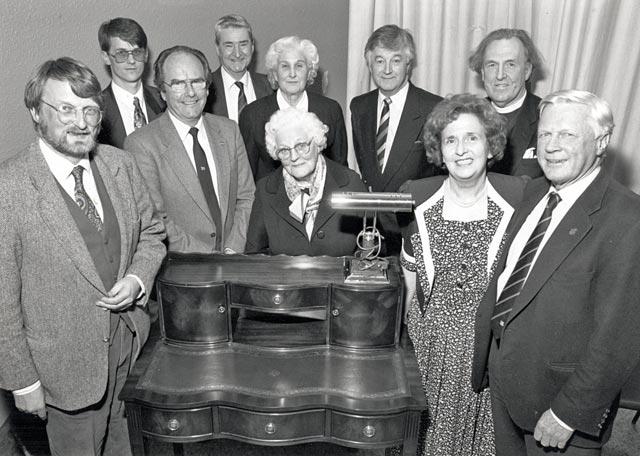 Catriona Gilles' Retirement Presentation - 1994
