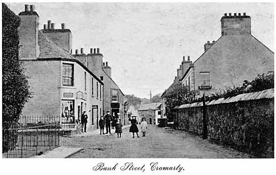 View of Bank Street Cromarty