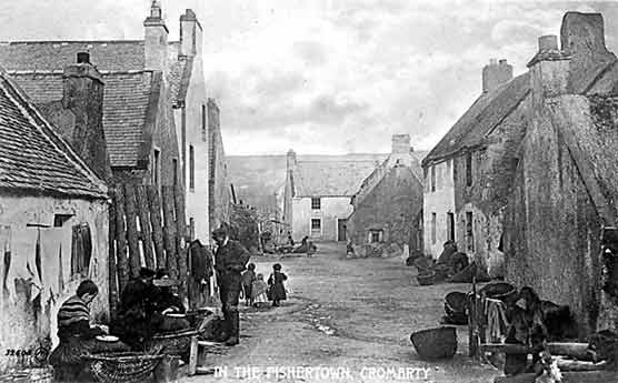 In the Fishertown, Cromarty