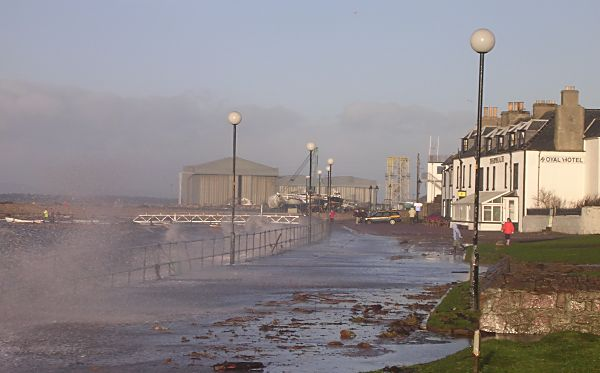 Storm on Marine Terrace